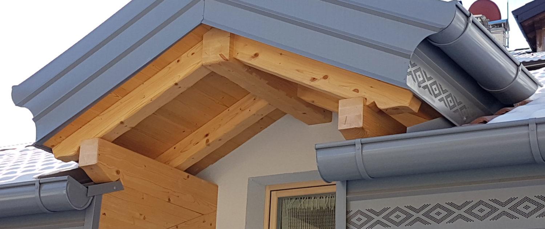 Carpenteria in legno - Valle di Ledro - Ledro Costruzioni